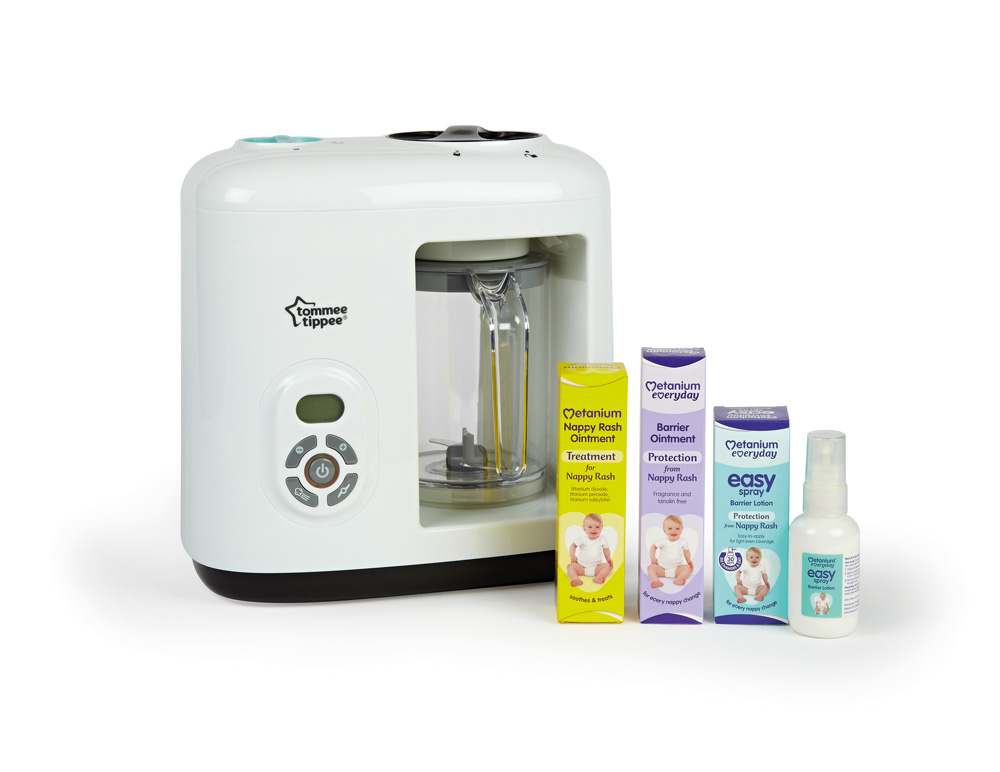 Win A Tommee Tippee Baby Food Steamer Blender With Metanium