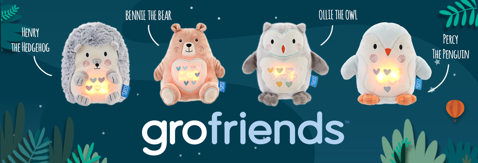 Gro friends – Light and Sound Sleep Aid | Project Baby